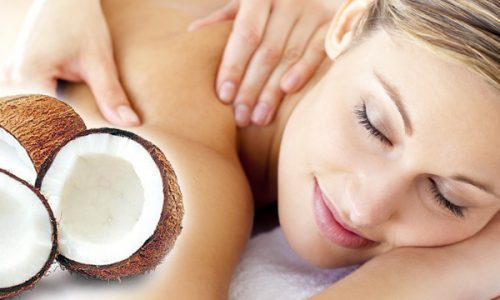 coconut-massage